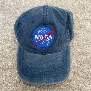 Denim NASA hat